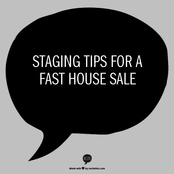 staging-tips-for-fast-house-sale