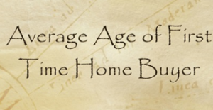 average-age-of-first-time-home-buyer