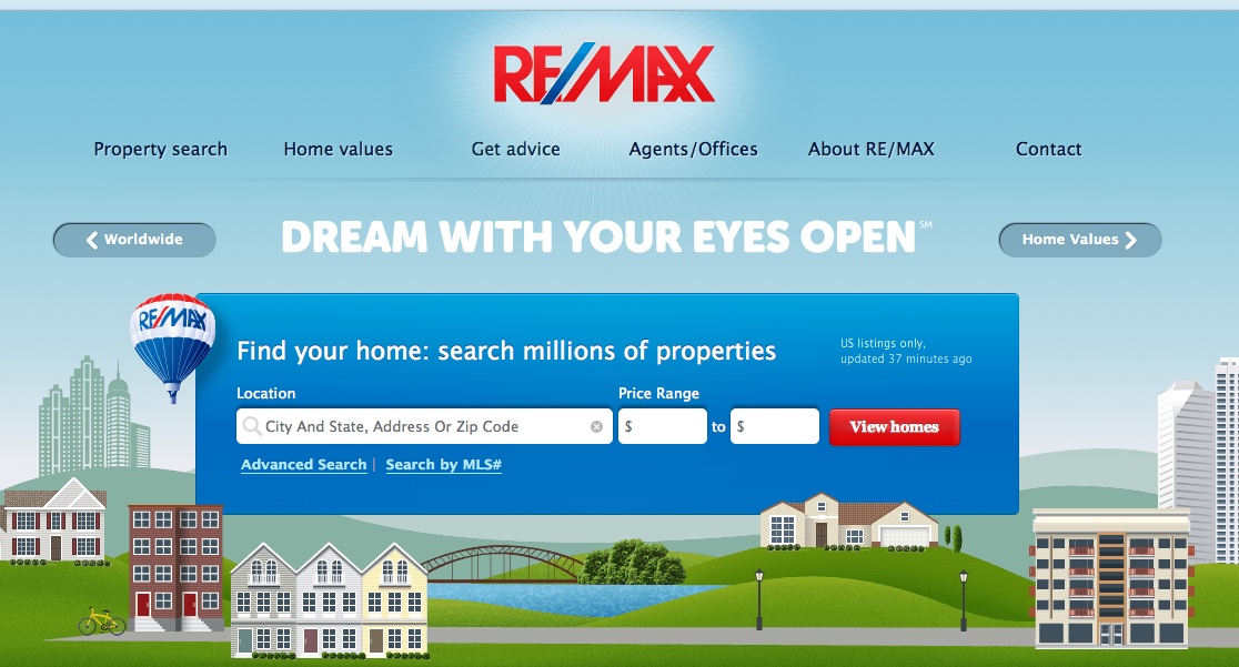 10-real-estate-website