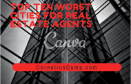 Top Ten Worst Cities For Real Estate Agents