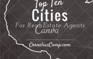 Top Ten Cities for Real Estate Agents
