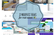 32 WordPress Themes For Real Estate